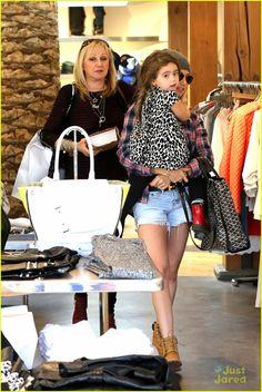 Ashley Tisdale: Shopping with Mikayla! | ashley tisdale shopping mikayla jennifer 14 - Photo