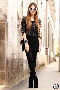 Sprèdfashion spredfashion.com - Chicwish; VJ Style; Boda Skins; Fashion Coolture #sunglasses #tops #accessories #jackets #coats #leather #rocker #goth #nightout #weekend #concert #black #women #spredfashion