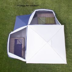 Ozark Trail 8-Person Tube Tent - Walmart.com - Walmart.com Family Camping, Tent Camping, Glamping, Ozark Tent, Tent Storage, Canopy Tent, Tents, Tent Weights, Pass Through Window