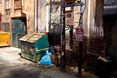 Dioramas y Maquetas  ali alamedy New York alleyway diorama 1:24