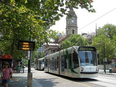 Melbourne Trams. They have the best public transport system