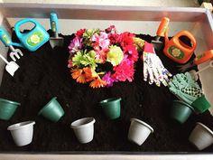 Sensory Bins, Sensory Play, Having A Blast, Planter Pots, King, Garden, Instagram, Garten, Lawn And Garden