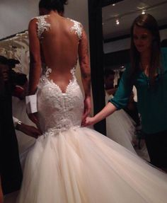bride to be Dream Wedding Dresses, Wedding Gowns, Backless Wedding, Wedding Dress Accessories, Bridal Looks, Beautiful Gowns, Dream Dress, Wedding Styles, Marie