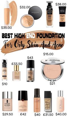Best Foundation For Oily Skin Full Coverage – Getting oily skin is no ruse. Between the myriad anti-shine cosmetics and skin-care products you could possibly us Best Foundation For Oily Skin, Foundation With Spf, Airbrush Foundation, Makeup Tutorial Foundation, Matte Foundation, No Foundation Makeup, Drugstore Foundation, It Cosmetics Celebration Foundation, Top Foundations
