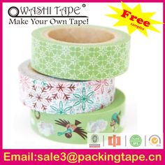 custom printed decorative printing vase makeover washi for craft making