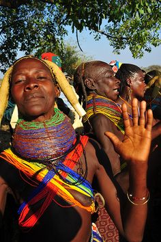 Mwila people are an ethnic group living in southern Angola, in the area of Huila.