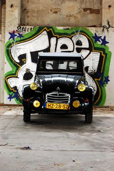 The Deux Chevaux - not the World's prettiest car but mechanically robust and been around since WWII era