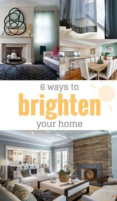 6 Ways to Brighten Your Home | Learn how to make your home feel like an open, airy space with these simple tips.