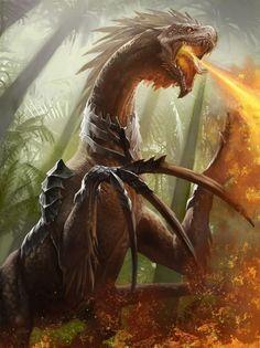 The Rizionsaurus by LeewiArt