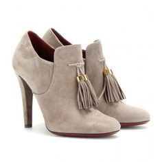 Gucci Mischa Suede Ankle Boots - LoLoBu