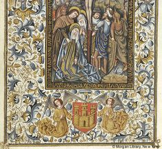 Book of Hours, MS M.854 fol. 34v - Images from Medieval and Renaissance Manuscripts - The Morgan Library & Museum