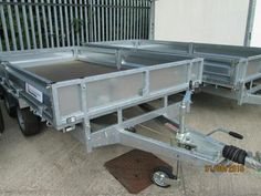 INDESPENSION 16' X 6' FLAT BED WITH SIDES C/W LED LIGHTS Trailers in Lisburn | Auto Trader Plant