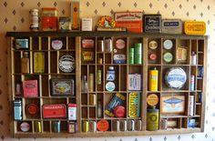 Medicine Tins and Printer Trays
