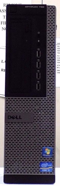 Dell Optiplex 790 Desktop PC i5-2400 @3.10GHz 8GB 320GB Windows 10 Pro