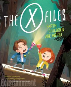 See two spreads from the upcoming 'X-Files'-themed picture book.