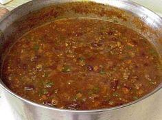 CHILI (Bonnie's Fundraiser Chili) Recipe | Just A Pinch Recipes