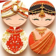Adorable indian cakes