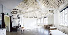 Shoreditch Studios | Natural Light | Photography Studio Inspiration