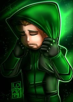 """""""One Last Ride"""" I was wondering if we were going to get one more suit update before the show wraps up…I love how they incorporated elements from his first suit into this one💚🏹💚 Oliver Queen Arrow, The Flash, Supergirl, Lord Mesa Art, Flash Drawing, Arrow Cast, Team Arrow, Flash Arrow, Green Arrow"""