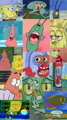 Spongebob wallpaper I hope y'all like it I worked really hard on it 🧽💘 Spongebob Iphone Wallpaper, Disney Phone Wallpaper, Iphone Background Wallpaper, Aesthetic Iphone Wallpaper, I Wallpaper, Aesthetic Wallpapers, Wie Zeichnet Man Spongebob, Spongebob Squarepants Tv Show, Spongebob Background