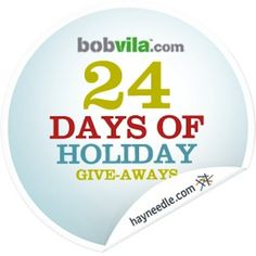 Bob Vila's 24 Days of Holiday Give-Aways Prize Roundup http://www.bobvila.com/24-days-of-holiday-give-aways/21919-bob-vila-s-24-days-of-holiday-give-aways-prize-roundup/slideshows
