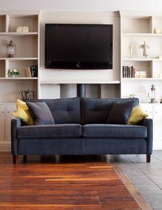 Smooth Velvet Sofa