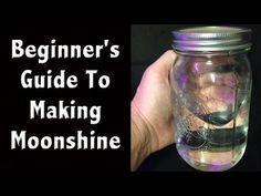 Moonshine Making 101 -Beginner Moonshine and Fuel Making - Off Grid living - YouTube