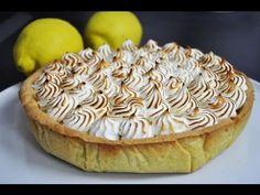 Un dessert classique, la tarte au citron meringuée, expliquée étape par étape en vidéo. Un recette de tarte au citron maison facile et délicieuse.