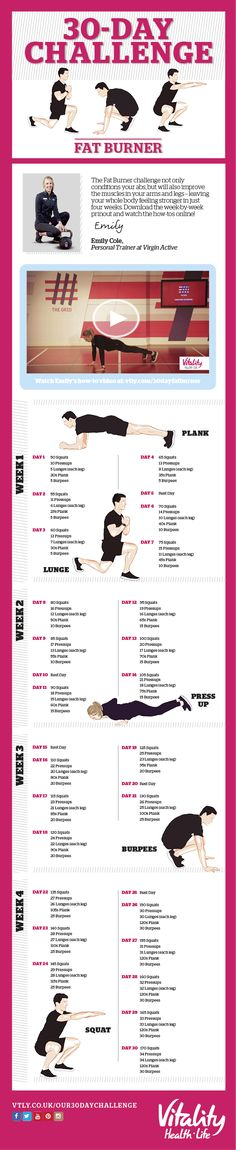 October Challenge Infographic