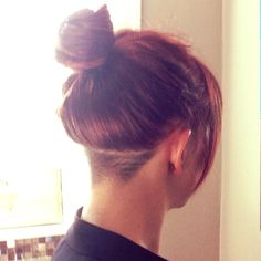 Nape Undercut - nice and simple