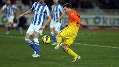 Lio Messi, FC Barcelona | Real Sociedad 3-2 FC Barcelona. [2013-01-19]