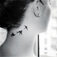 17 Tatuajes para mujer de pajaritos