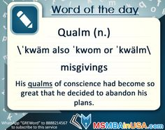 #WordofTheDay Via MSMBAinUSA