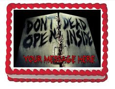Zombie Edible Cake Topper 2 * Remarkable discounts available  : Baking desserts tools