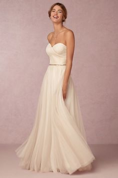 7867a060d72a DefiningIconicStyle.com To Catch a Thief Grace Kelly Wedding Dress Bhldn  Wedding Dresses, Strapless