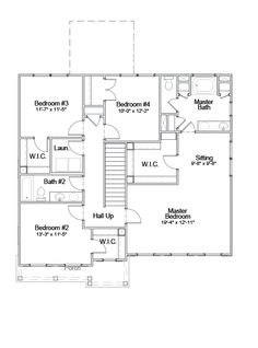 Nice 2nd Floor   Standard Floor Plan