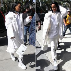 87c63fd8d86 Rihanna rocks new dreadlocks as she goes casual cool in New York ...