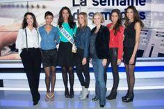 Premiers jours Miss France 2014 _ Linda Hardy _ Sonia Rolland _ Flora Coquerel _ Alexandra Rosenfeld _ Sylvie Tellier _ Malika Menard _ Chloé Mortaud