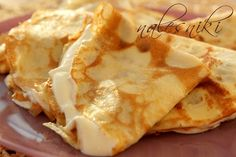 Pescatarian Diet, Pancakes, Crepe Cake, Polish Recipes, Quick Snacks, Food Photo, Good Food, Food And Drink, Favorite Recipes