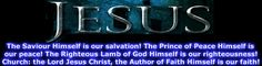 EVERLASTING SALVATION FOREVERMORE IN JESUS CHRIST | salvation and saving faith are of the lord not of