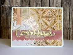 May 2015 My life in the Paper List: Card using Simon Says Stamp May 2015 Card kit