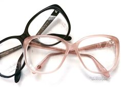 38b4cf32f8da53 Strip down Nude Pink(SOLDOUT) or Black. Iconic oversized 80 s frames by  Bausch
