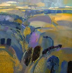 Embedded image Abstract Landscape Painting, Seascape Paintings, Landscape Art, Landscape Paintings, Impressionist Landscape, Abstract Geometric Art, Paintings I Love, Contemporary Landscape, Painting Inspiration