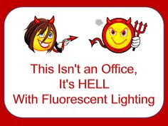 Funny Office Humor | Funny Signs Office Humor This isnt an Office Its Hell Devil Smiley