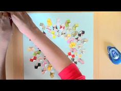 Tutorial - Video - using leftovers / Camelot Kit Paper Leftovers by Paige Evans