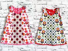 DIY Anleitung für Kinder: Kleid selber nähen // childrens fashion diy: how to sew a dress via DaWanda.com