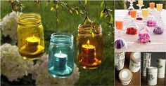 Candles are nice for home decor any time in the year. We have found these creative candle decor ideas 18 Candles, Home Candles, Diy Arts And Crafts, Diy Crafts, Coffee Table Centerpieces, Hacks Diy, Diy Projects, Decor Ideas, Craft Ideas