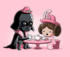 star wars pink princess leia - Pesquisa Google