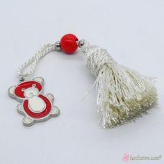 Παιδικό γούρι με κόκκινο αρκουδάκι Charmed, Personalized Items