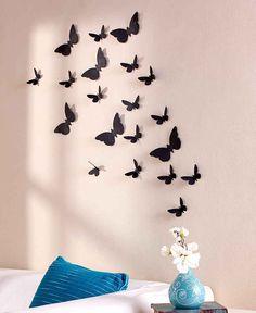 Super Beautiful Butterflies Set Of 20, Home Decor. Bedroom Decor. #Unbranded